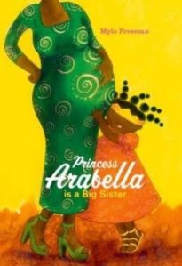 Princess Arabella is a Big Sister