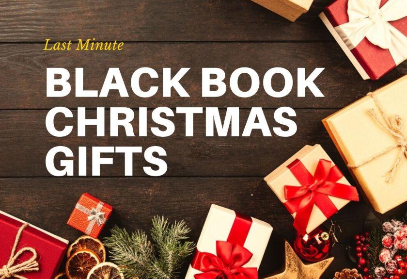 Black Book Christmas Gifts